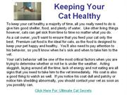 Cat Health Problems