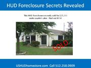 hud foreclosure secrets revealed