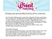 change your personality by fancy dress costumes