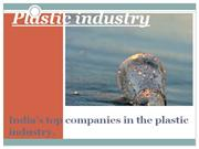 India's top companies in the plastic industry 9999999999