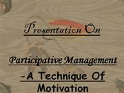 participative mgmt