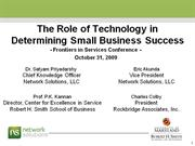 Frontiers_2009_Role_of_Technology_in_Small_Business_Success