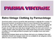 wholesale vintage clothing by parmavintage