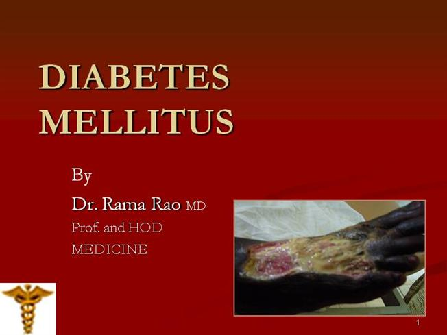 Diabetes mellitus (part-3) - laboratory diagnosis and management.