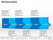6 Staged Marketing Process Flow Diagram