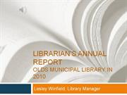 2011 annual report to the community