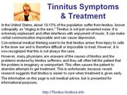 Tinnitus No More