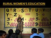 RURAL GIRL'S EDUCATION