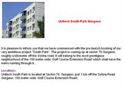 Unitech South Park - South Park Sector 70 Gurgaon