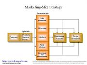 Marketing-Mix Strategy business diagram