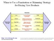 Penetration and Skimming business diagram