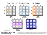 Taget Market Selection business diagram