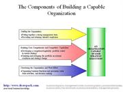 Capable Organization diagram