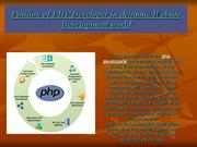Position of PHP Developer in dynamic Website Development world
