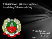 fabrication of plastics