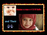 Innocence Of Kids and Their