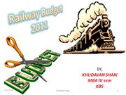 rail way budget 2011-12