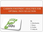 Carbon footprint using GIS