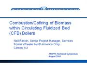 Biomass Co-Firing Foster Wheeler 2008