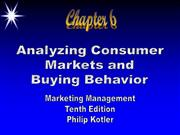 buying behaviour