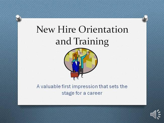 New Hire Orientation 2 Powerpoint |authorSTREAM