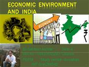 economic environment and india