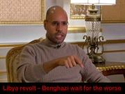LIBYA-Benghazi wait for the Worse-March 16