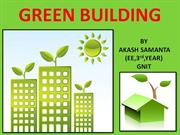 GREEN BUILDING by AKASH SAMANTA