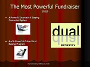 Fund Raising Without Limits Theater PPT