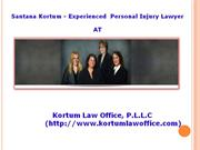 Personal Injury Lawsuit Guidelines by Santana Kortum