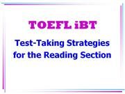 TOEFL ibt reading