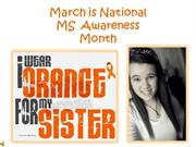 multiple sclerosis awareness- allie williams