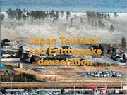 Japan Tsunami and Earthquake devastation2010