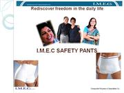 imec safety pants for urinary incontinence