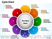 8 Staged Business Flower Petal Diagram