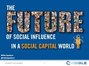 The future of social influence