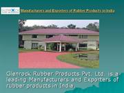manufacturers and exporters of rubber products in india