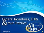 AllMeds Federal EHR Incentives Webinar