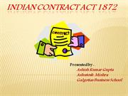 INDIAN CONTRACT ACT 1872 (2)