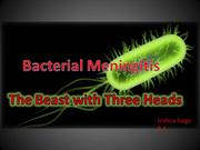bacterial meningitis josh gage