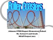 Ms. Sawyer's 2nd Grade MSAP Project