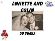 Annette and Colin | 50 Years