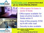 world class facilities office space in noida sector 8 for lease