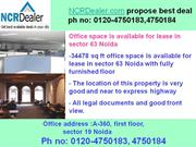 office space available for rent in sector 63 noida with 5000 sq feet