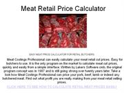 meat-price-calculator