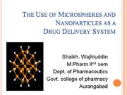 Microsphere and Nanoparticles