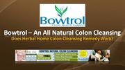 Colon cleansing detox