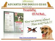 Advantix for Dogs10-25 Kg