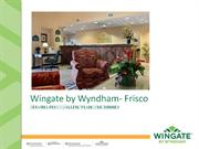 Wingate by Wyndham Frisco May 2011