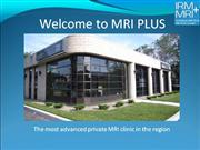 Welcome to MRI Plus Mrch 14 2011